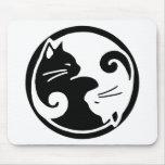 Yin Yang Cats Mousepads