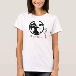 Yin Yang Cats Women's Tee (Many Colors_
