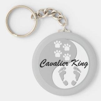 yin yang cavalier king key ring