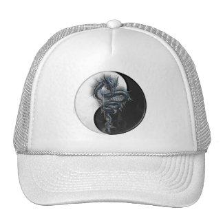 Yin Yang Chinese Dragon Cap Hats