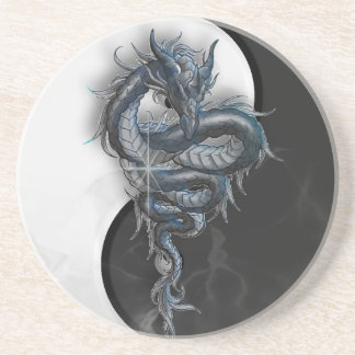 Yin Yang Chinese Dragon Coaster