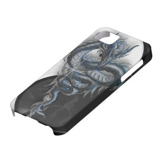 Yin Yang Chinese Dragon iPhone 5 Barely There iPhone 5 Cover