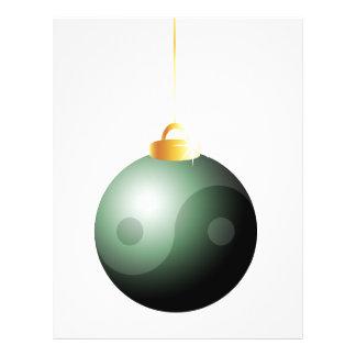 Yin Yang Christmas Ball Custom Flyer