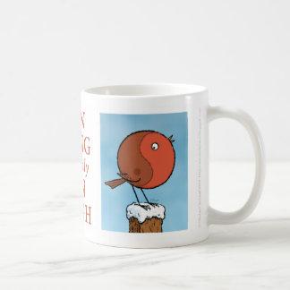 Yin Yang Christmas Mug