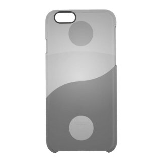 Yin yang clear iPhone 6/6S case