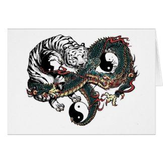 Yin Yang Design Card