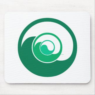 Yin Yang Design Mouse Pad
