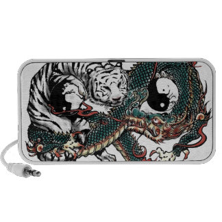 Yin Yang Design Portable Speakers