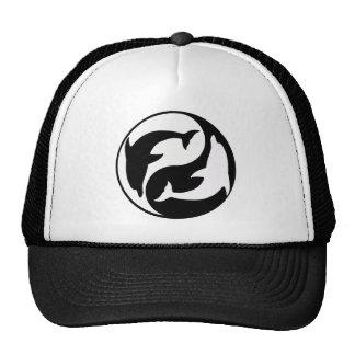 Yin Yang Dolphin Hat