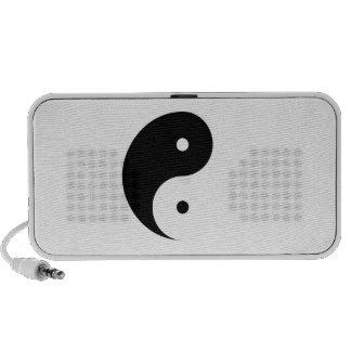 Yin Yang Doodle Speaker Feminine Above