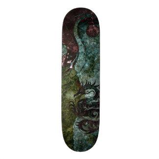 Yin yang dragon 3 skate deck