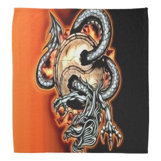 Yin Yang Dragon Bandana