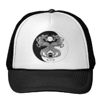 Yin Yang Dragon Cap