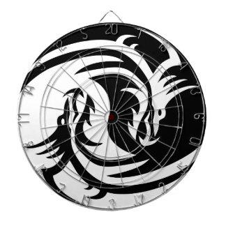 Yin Yang Dragon Dartboard