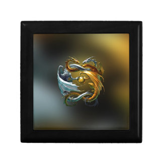Yin Yang Dragon Gift Box