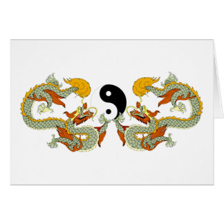 Yin Yang Dragon Gift Card
