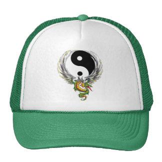 Yin Yang Dragon Gift Trucker Hats