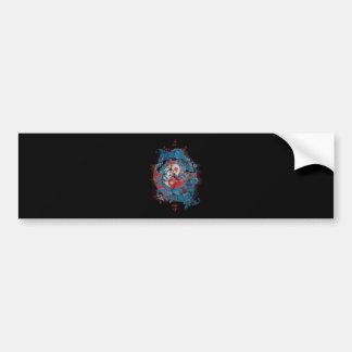 Yin Yang Dragon Life Bumper Sticker