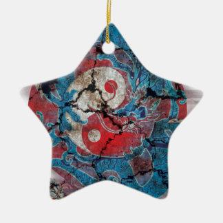 Yin Yang Dragon Life Christmas Ornament