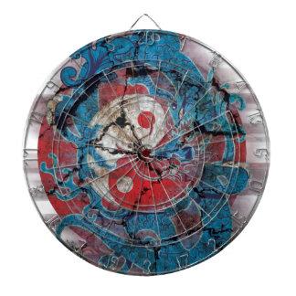 Yin Yang Dragon Life Dartboard