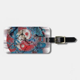 Yin Yang Dragon Life Luggage Tag