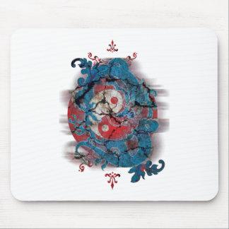 Yin Yang Dragon Life Mouse Pad