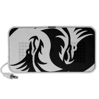 Yin Yang Dragon PC Speakers