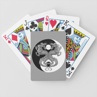 Yin Yang Dragons Bicycle Poker Cards