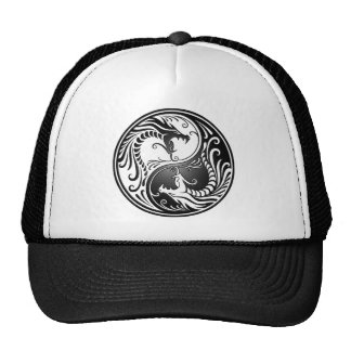 Yin Yang Dragons Cap