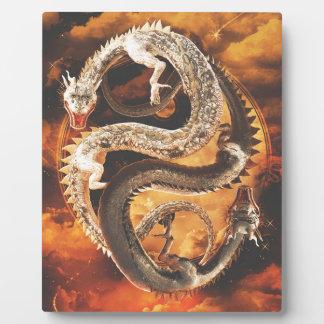Yin Yang Dragons - Chaos Plaque