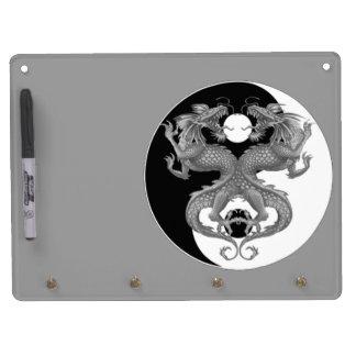 Yin Yang Dragons Dry-Erase Whiteboards