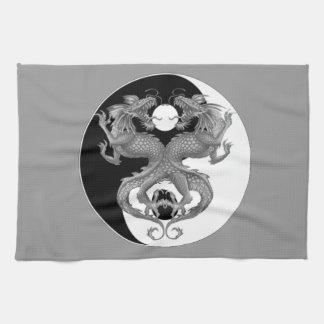 Yin Yang Dragons Kitchen Towel