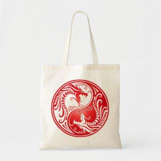 Yin Yang Dragons, red