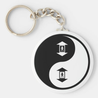 Yin Yang Elevators Key Ring