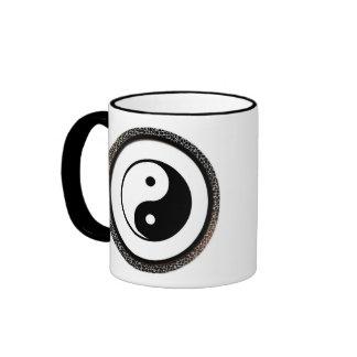 Yin Yang Emblem Cup Ringer Coffee Mug