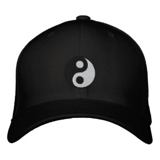 Yin Yang Embroidered Hats