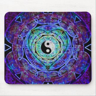 Yin Yang Energy Flow Mouse Mat