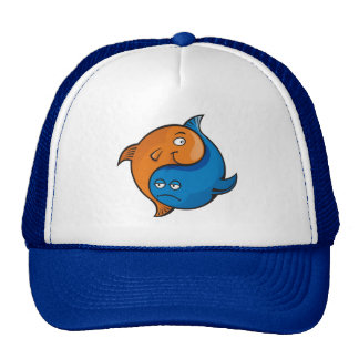 Yin Yang Fish Cartoon Hat