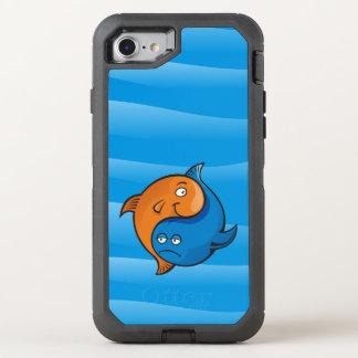 Yin Yang Fish Cartoon OtterBox Defender iPhone 8/7 Case