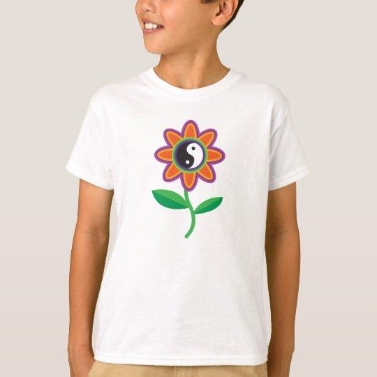 Yin Yang Flower T-Shirt
