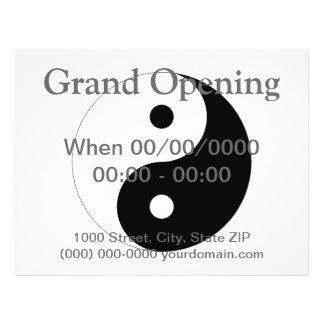 Yin Yang Personalized Flyer
