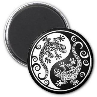 Yin Yang Geckos Magnet