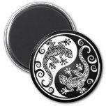 Yin Yang Geckos Magnets