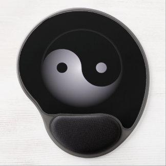 Yin yang gel mouse mat