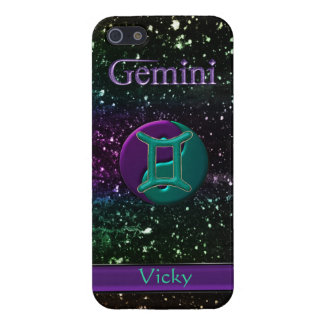 Yin Yang Gemini Night Sky Personalized  iPhone iPhone 5 Cases