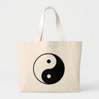 Yin Yang Gift Large Tote Bag