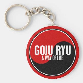 Yin Yang GOJU RYU 1 Key Ring