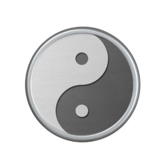 Yin Yang - grey Bluetooth Speaker