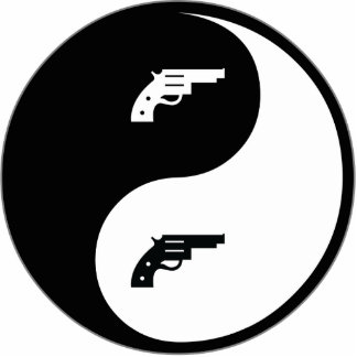 Yin Yang Gun Cut Outs