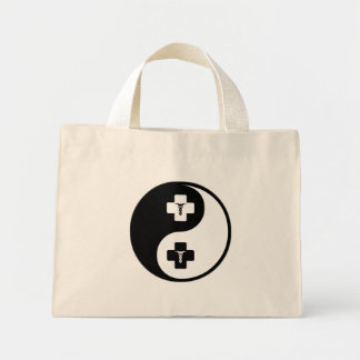 Yin Yang Gynecology Tote Bags